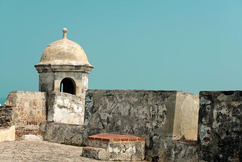 Murallas de Cartagena, destino Dann